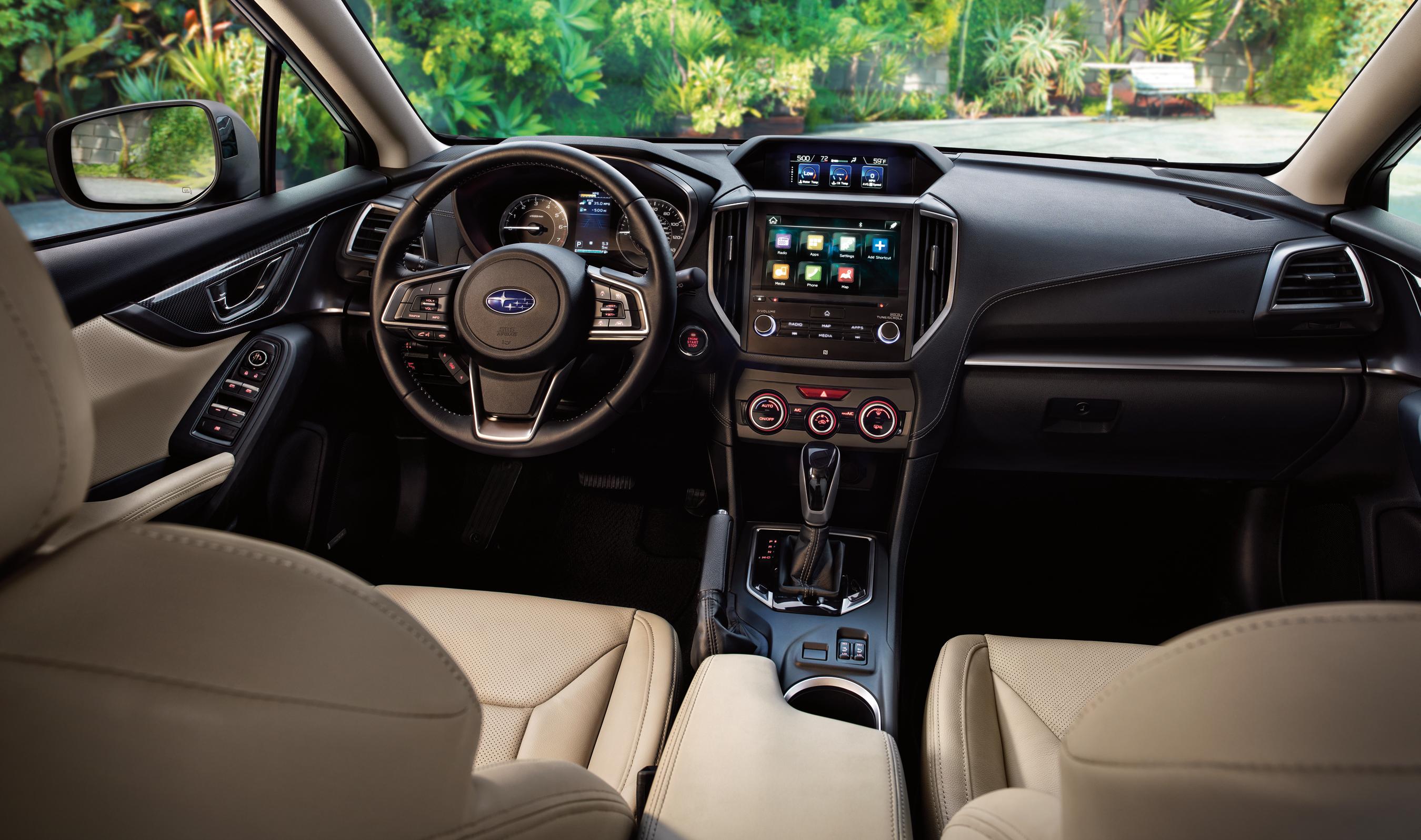 Интерьер Subaru Impreza признан лучшим по мнению экспертов WardsAuto