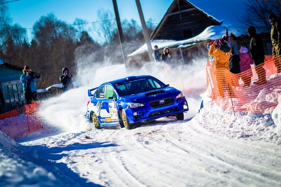 Команда Subaru продолжит участие в Чемпионате России по Ралли