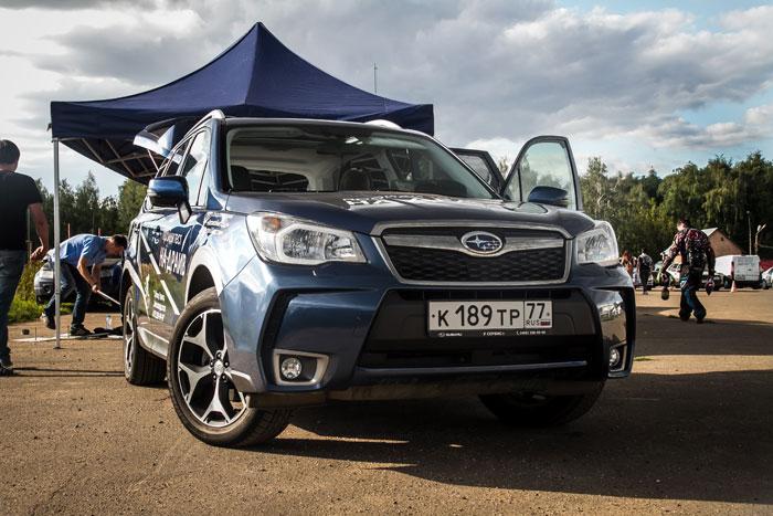 Forester Day - большой тест-драйв Subaru Forester состоялся